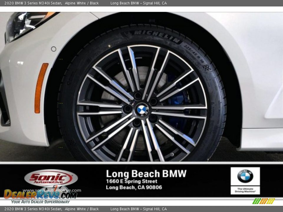 2020 BMW 3 Series M340i Sedan Alpine White / Black Photo #9