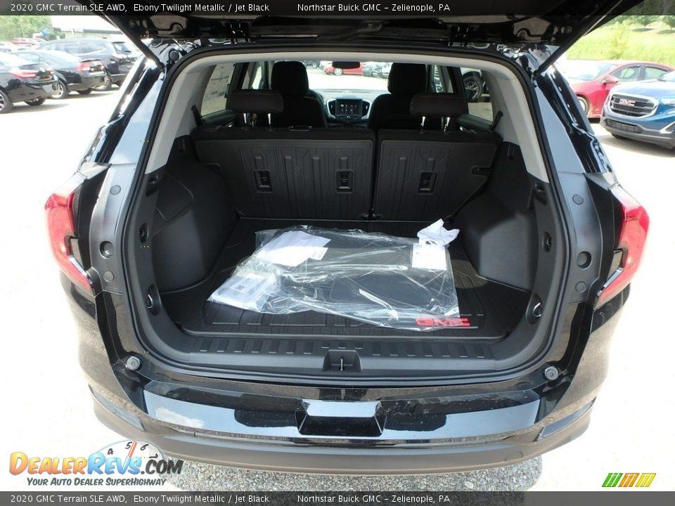 2020 GMC Terrain SLE AWD Ebony Twilight Metallic / Jet Black Photo #7
