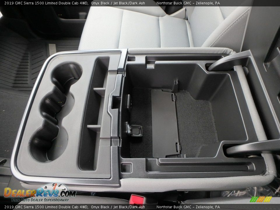 2019 GMC Sierra 1500 Limited Double Cab 4WD Onyx Black / Jet Black/Dark Ash Photo #18