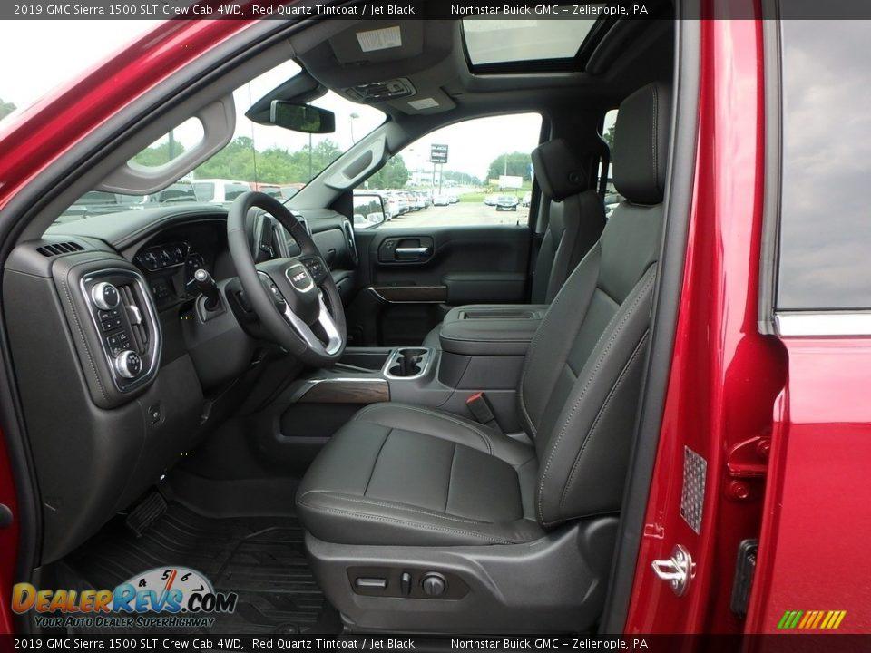 2019 GMC Sierra 1500 SLT Crew Cab 4WD Red Quartz Tintcoat / Jet Black Photo #11