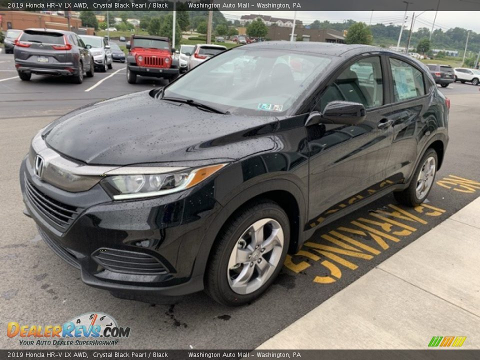2019 Honda HR-V LX AWD Crystal Black Pearl / Black Photo #4