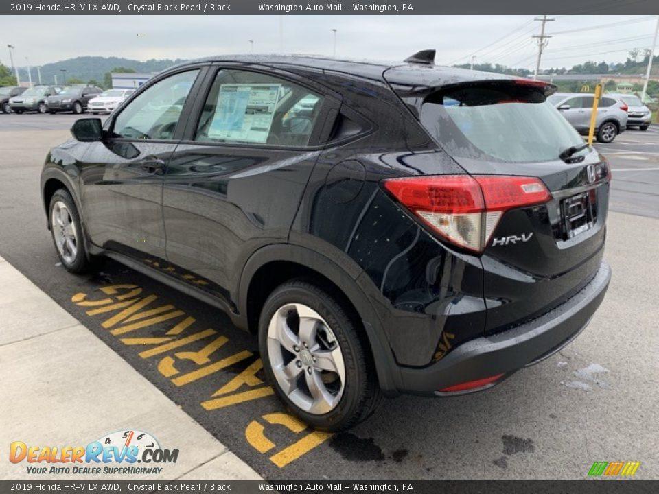 2019 Honda HR-V LX AWD Crystal Black Pearl / Black Photo #5