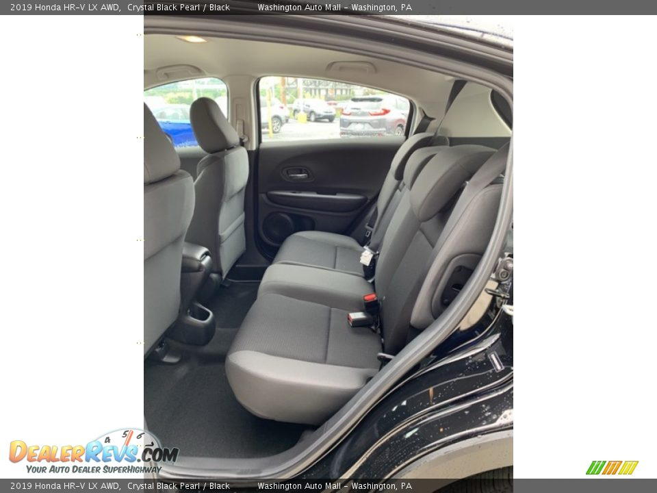 2019 Honda HR-V LX AWD Crystal Black Pearl / Black Photo #19