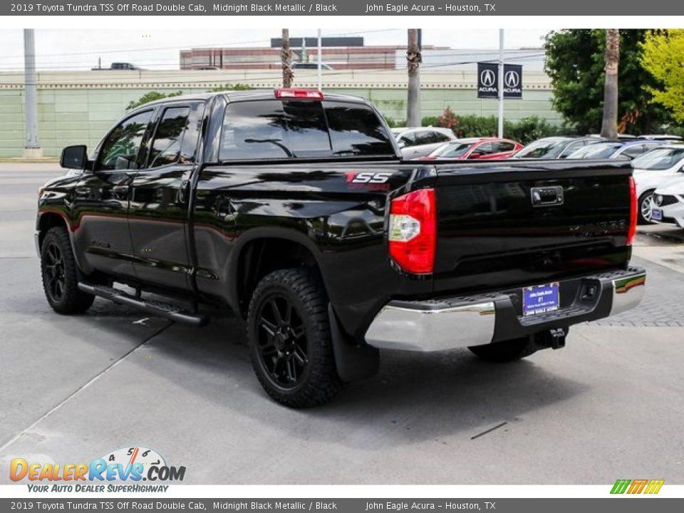 2019 Toyota Tundra TSS Off Road Double Cab Midnight Black Metallic / Black Photo #5