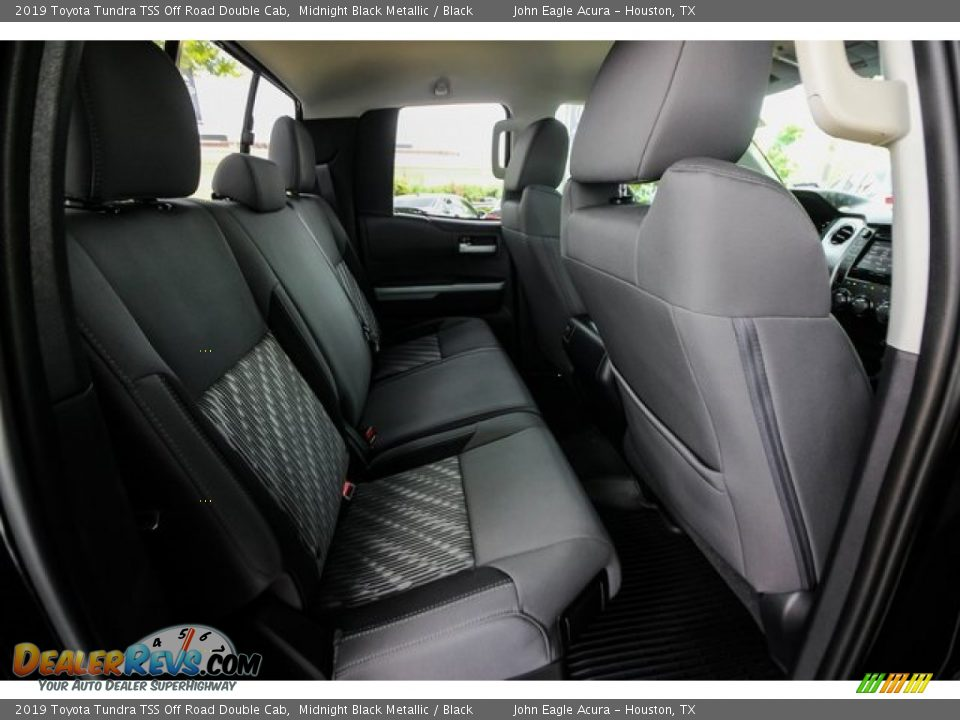 Rear Seat of 2019 Toyota Tundra TSS Off Road Double Cab Photo #23