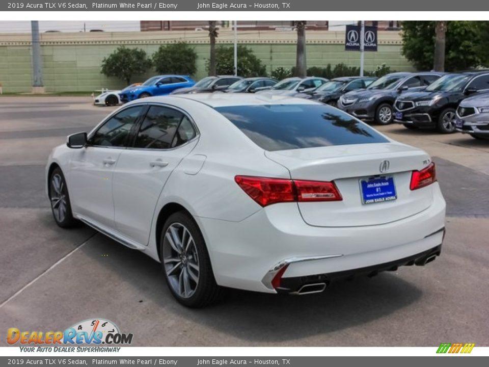 2019 Acura TLX V6 Sedan Platinum White Pearl / Ebony Photo #5