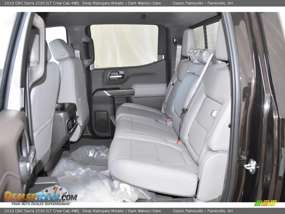 2019 GMC Sierra 1500 SLT Crew Cab 4WD Deep Mahogany Metallic / Dark Walnut/Slate Photo #7