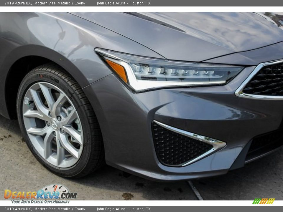 2019 Acura ILX Modern Steel Metallic / Ebony Photo #10