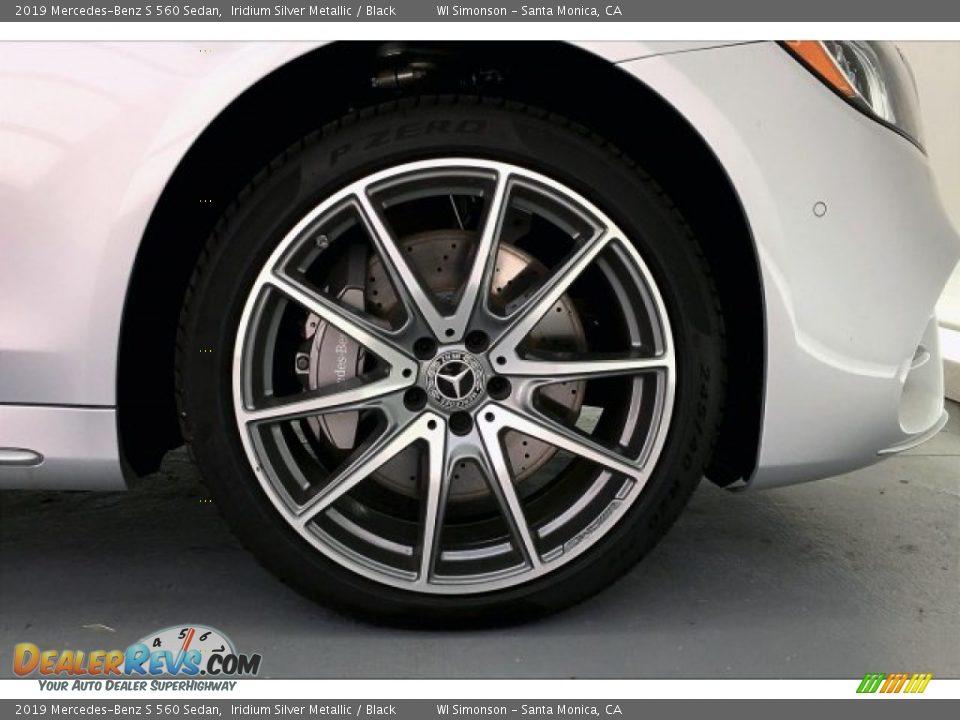 2019 Mercedes-Benz S 560 Sedan Iridium Silver Metallic / Black Photo #9