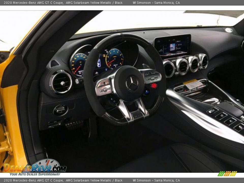 Dashboard of 2020 Mercedes-Benz AMG GT C Coupe Photo #4
