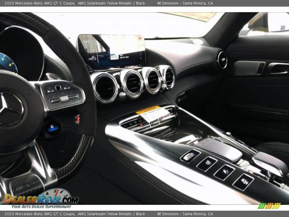 Dashboard of 2020 Mercedes-Benz AMG GT C Coupe Photo #6