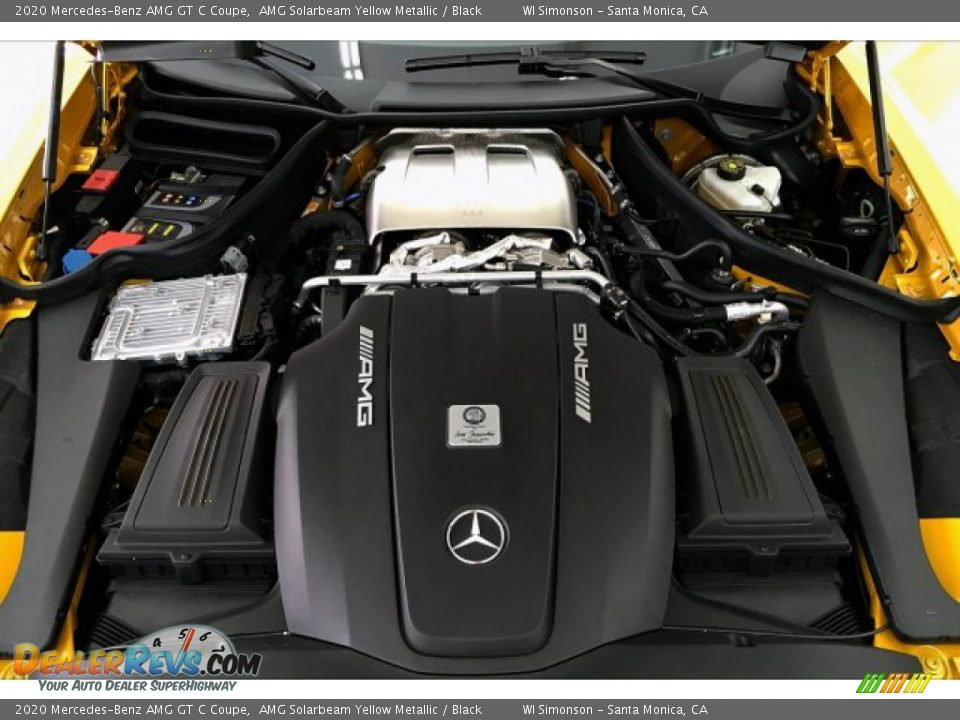 2020 Mercedes-Benz AMG GT C Coupe 4.0 Liter Twin-Turbocharged DOHC 32-Valve VVT V8 Engine Photo #8