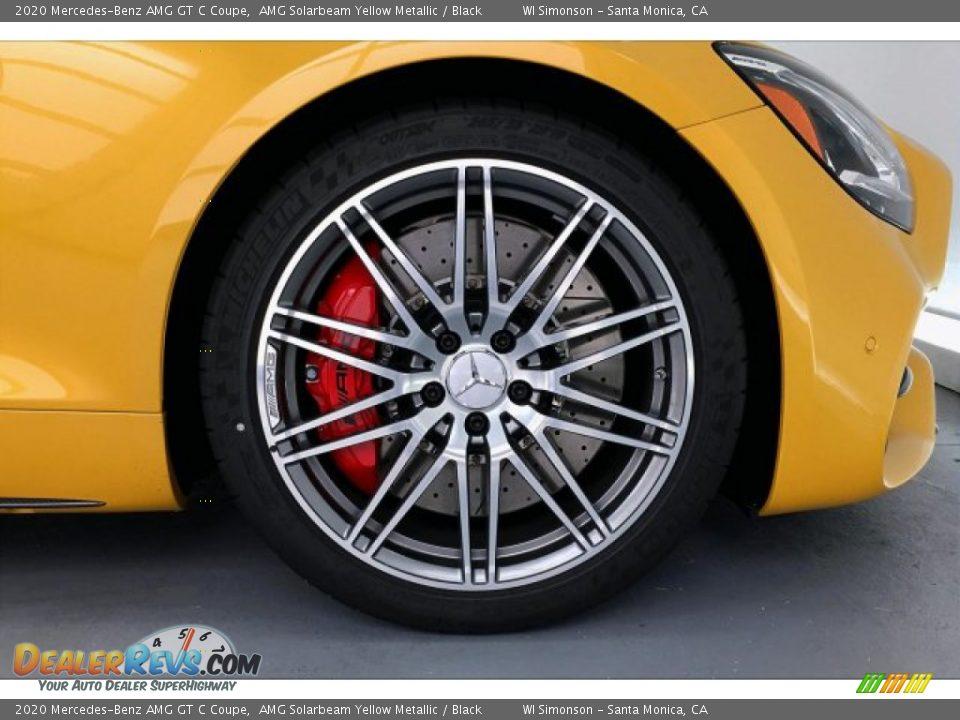 2020 Mercedes-Benz AMG GT C Coupe Wheel Photo #9