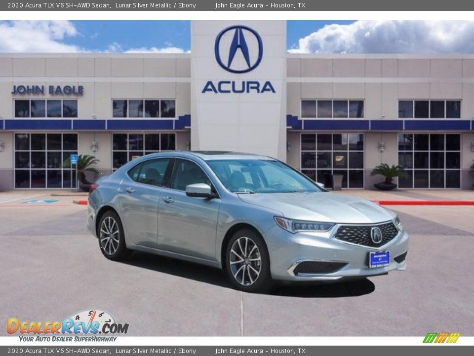2020 Acura TLX V6 SH-AWD Sedan Lunar Silver Metallic / Ebony Photo #1