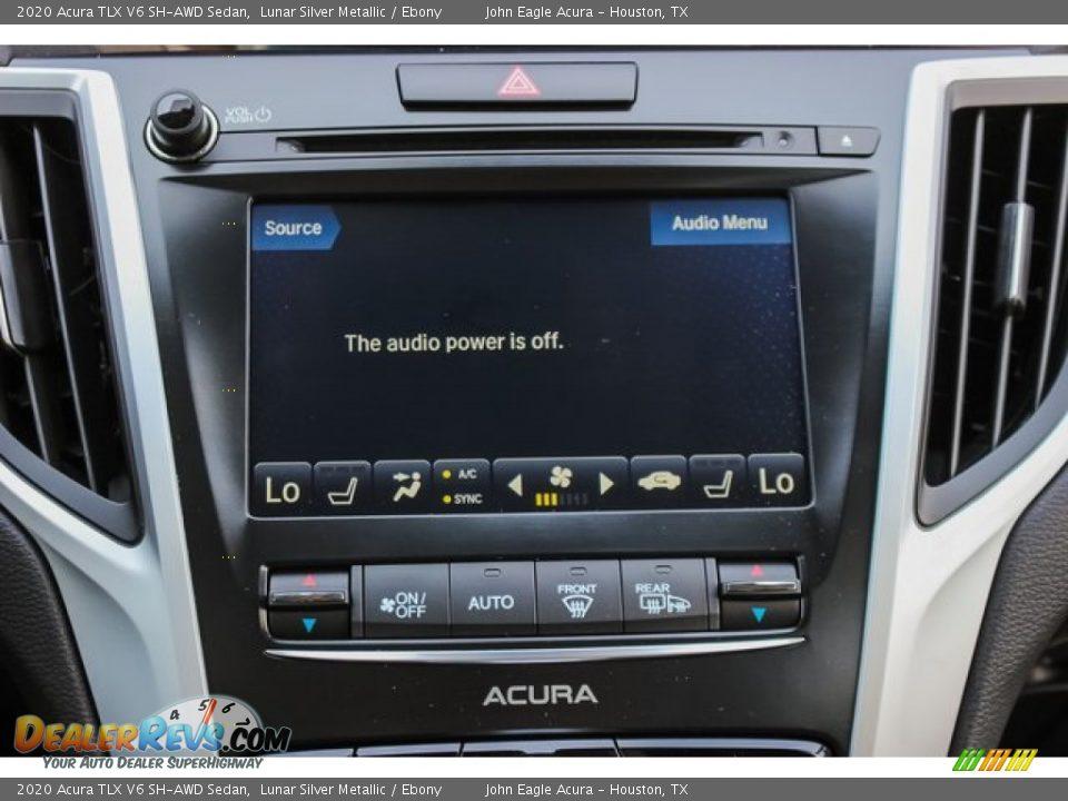 2020 Acura TLX V6 SH-AWD Sedan Lunar Silver Metallic / Ebony Photo #29