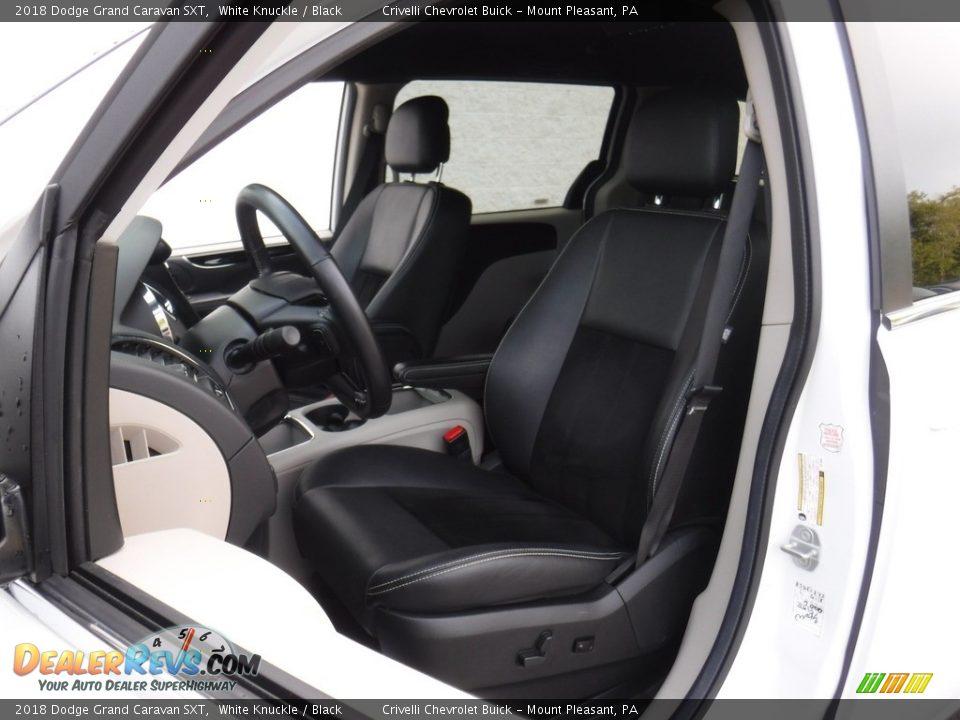 2018 Dodge Grand Caravan SXT White Knuckle / Black Photo #13