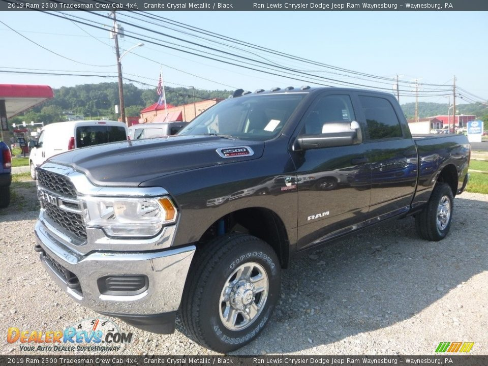 2019 Ram 2500 Tradesman Crew Cab 4x4 Granite Crystal Metallic / Black Photo #1