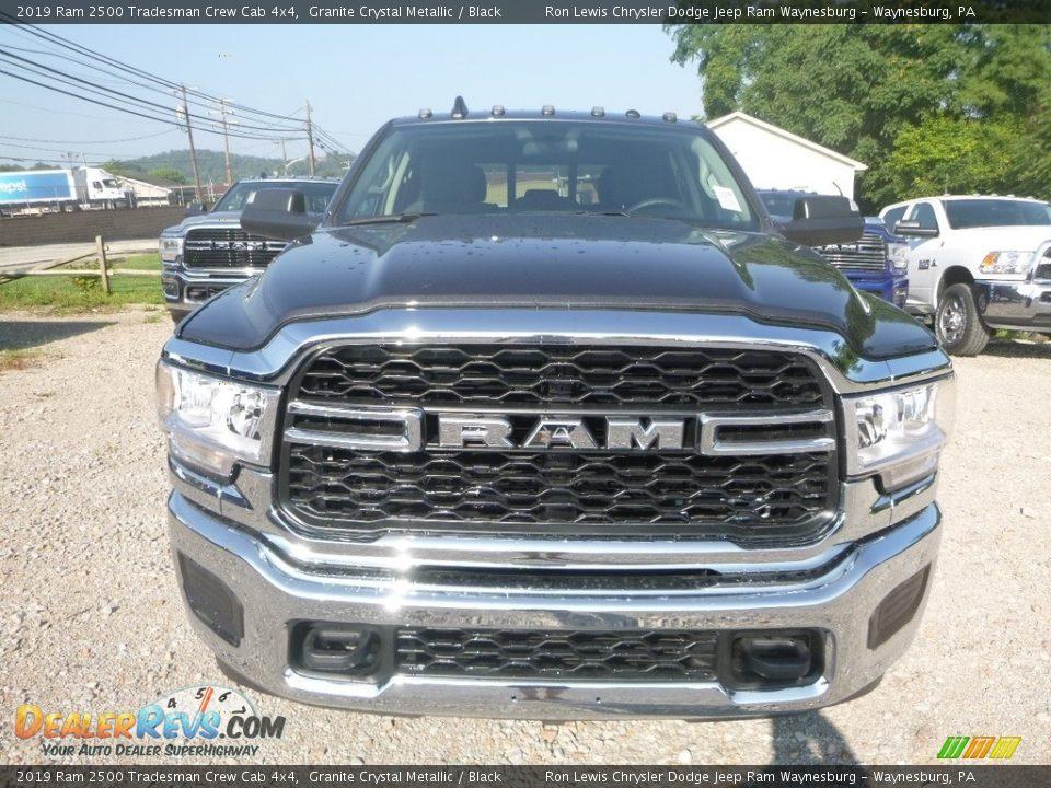 2019 Ram 2500 Tradesman Crew Cab 4x4 Granite Crystal Metallic / Black Photo #8