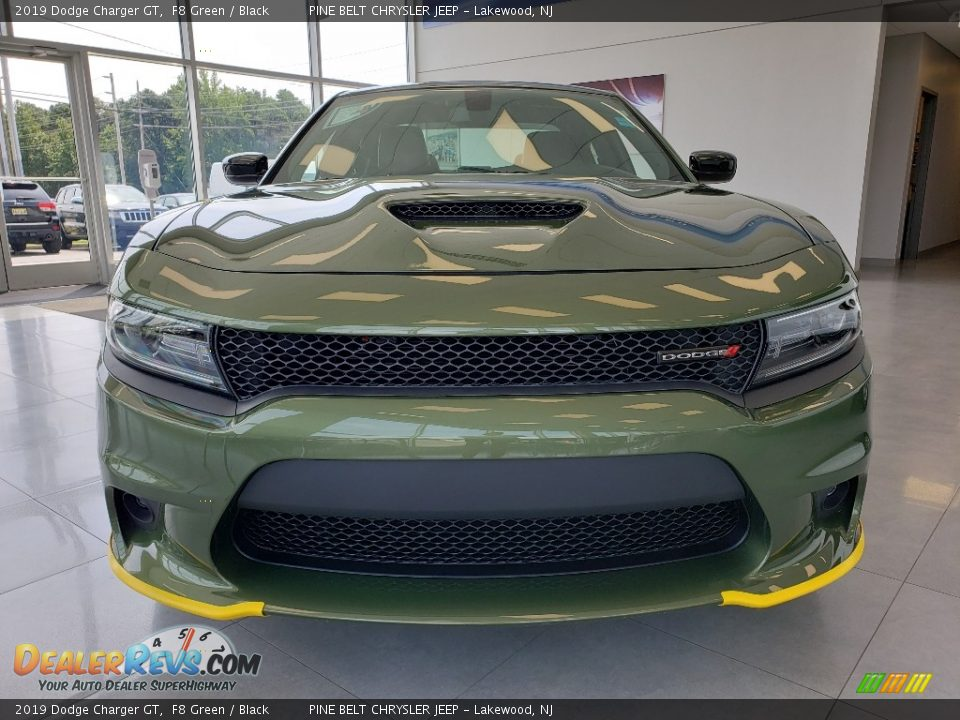 2019 Dodge Charger GT F8 Green / Black Photo #2