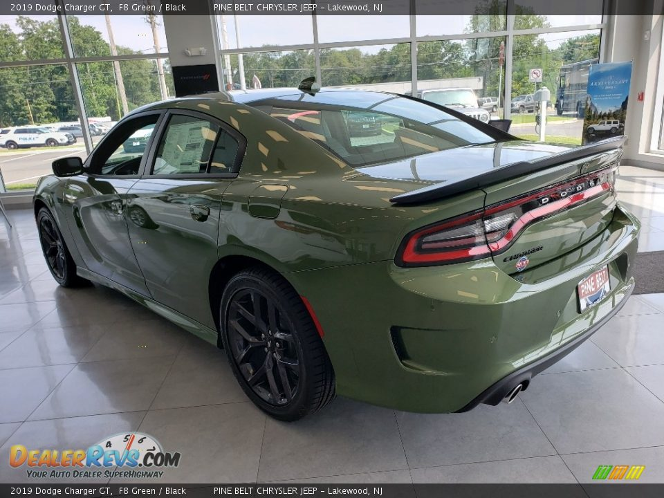 2019 Dodge Charger GT F8 Green / Black Photo #4