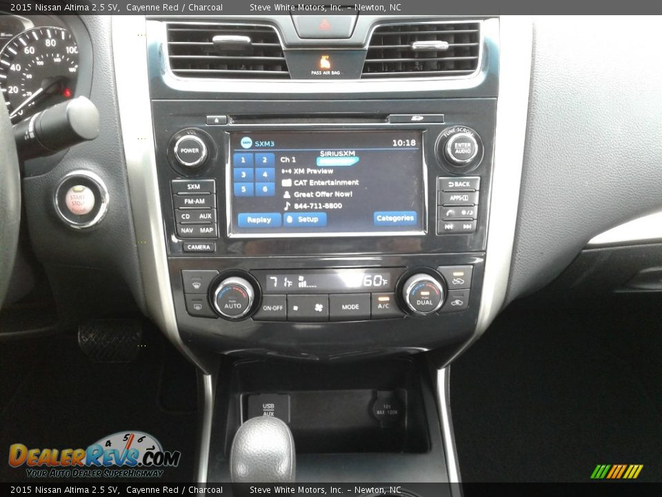 2015 Nissan Altima 2.5 SV Cayenne Red / Charcoal Photo #19