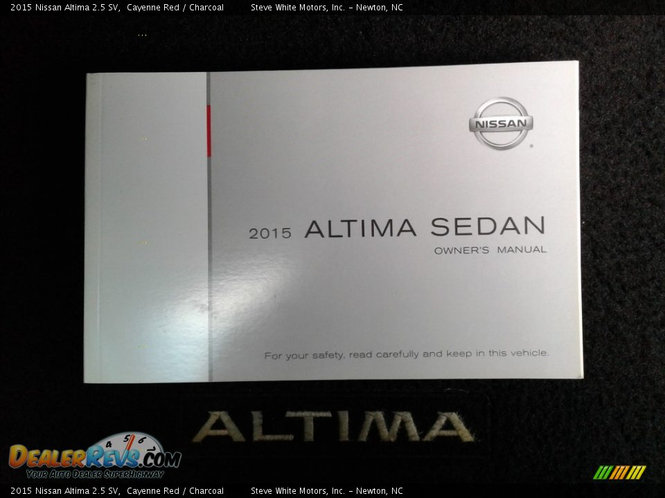 2015 Nissan Altima 2.5 SV Cayenne Red / Charcoal Photo #32