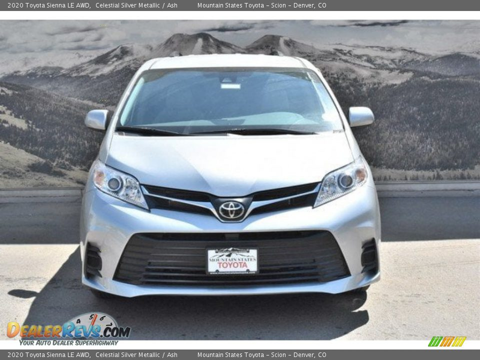 2020 Toyota Sienna LE AWD Celestial Silver Metallic / Ash Photo #2