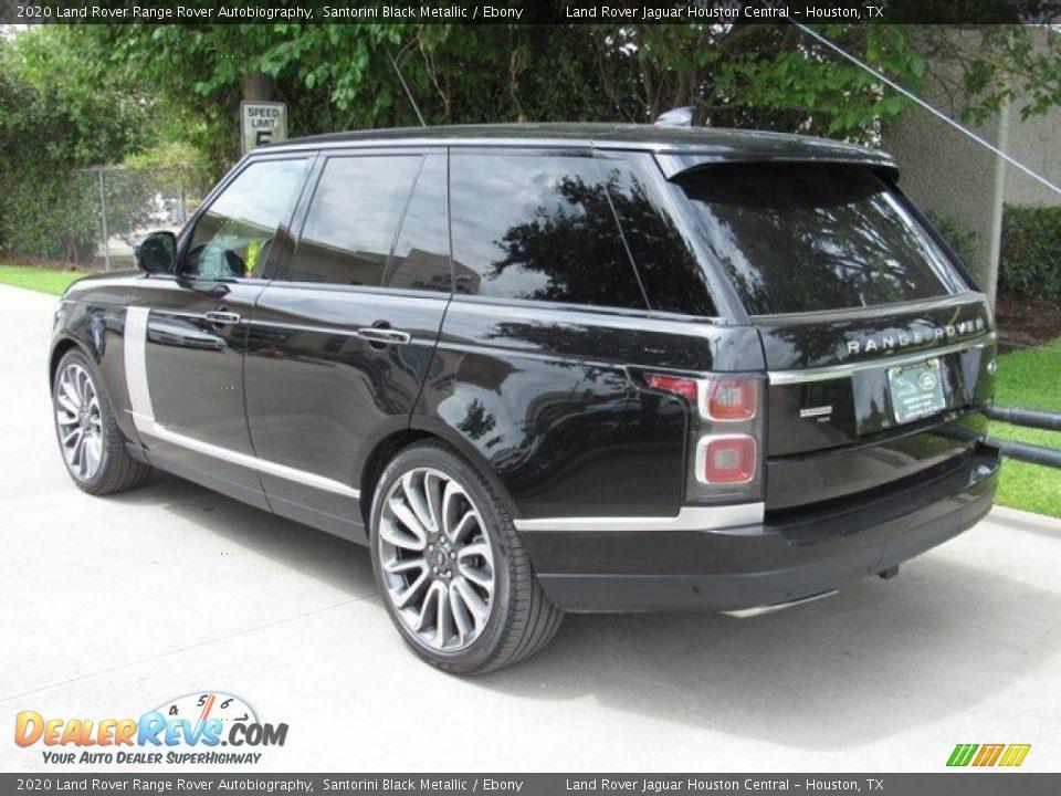 2020 Land Rover Range Rover Autobiography Santorini Black Metallic / Ebony Photo #12