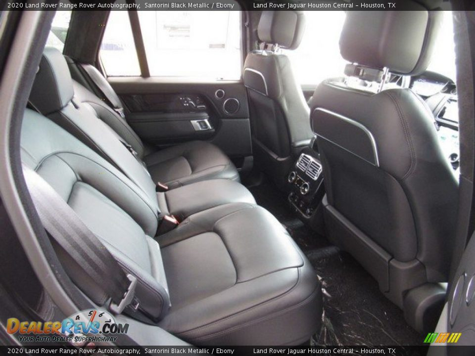 Rear Seat of 2020 Land Rover Range Rover Autobiography Photo #19