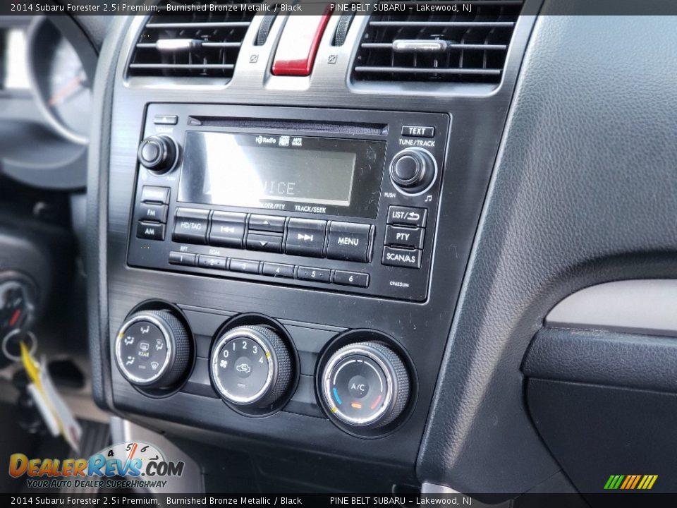 2014 Subaru Forester 2.5i Premium Burnished Bronze Metallic / Black Photo #14