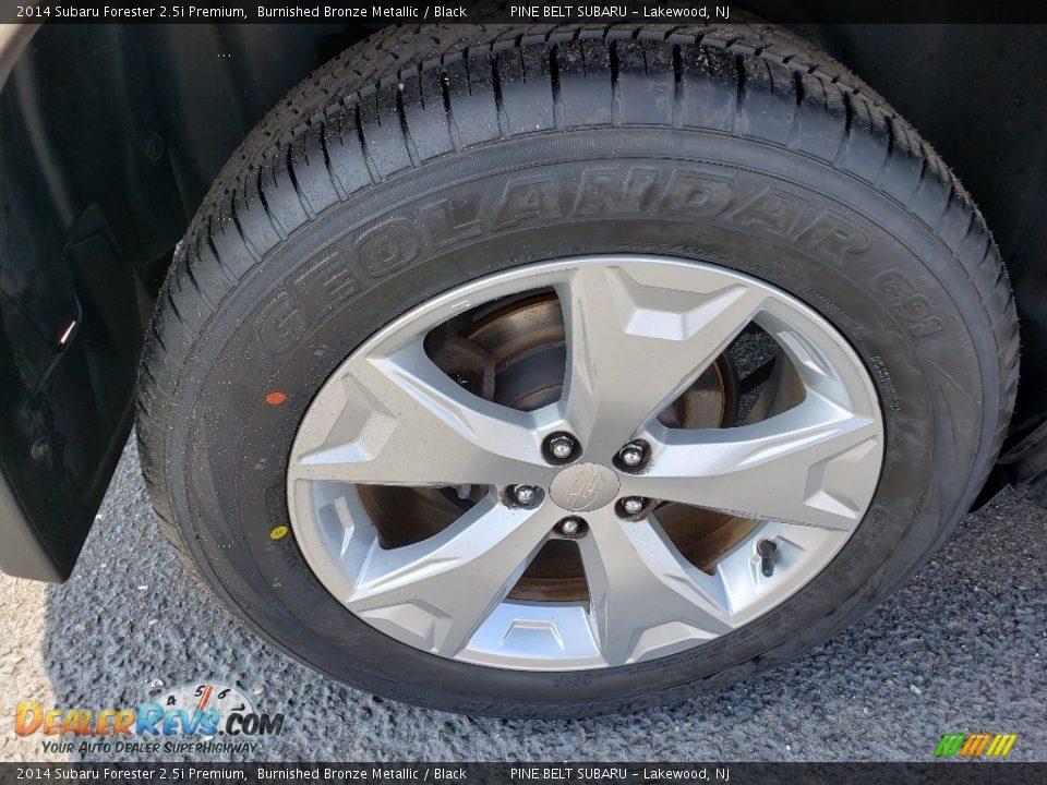 2014 Subaru Forester 2.5i Premium Burnished Bronze Metallic / Black Photo #18