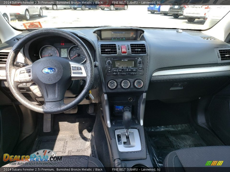 2014 Subaru Forester 2.5i Premium Burnished Bronze Metallic / Black Photo #24