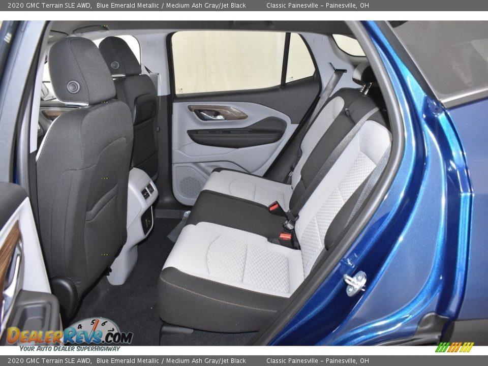 2020 GMC Terrain SLE AWD Blue Emerald Metallic / Medium Ash Gray/Jet Black Photo #7