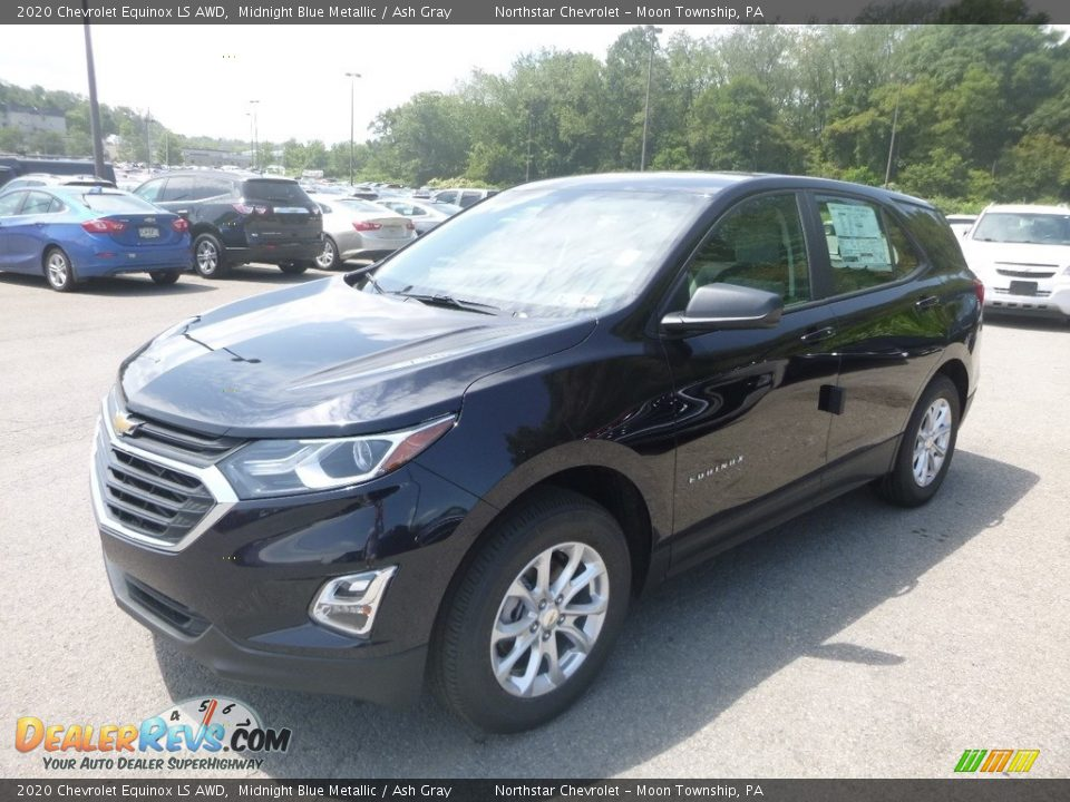 2020 Chevrolet Equinox LS AWD Midnight Blue Metallic / Ash Gray Photo #1