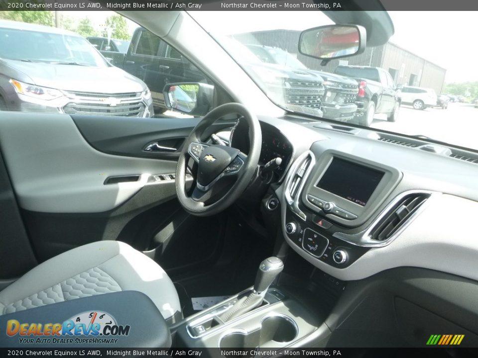 2020 Chevrolet Equinox LS AWD Midnight Blue Metallic / Ash Gray Photo #11