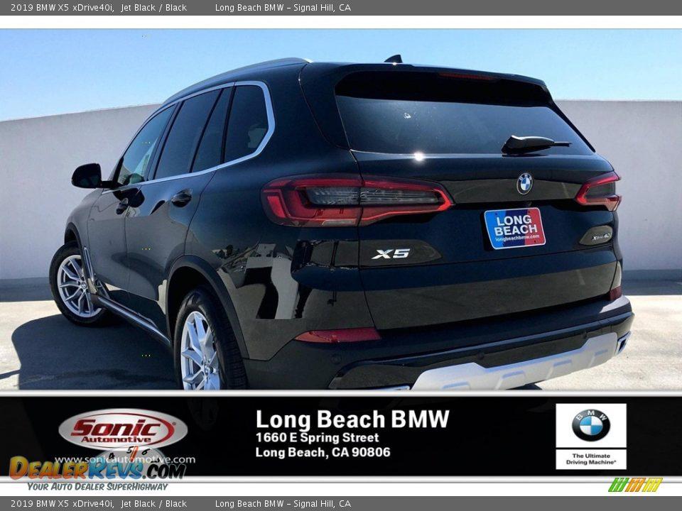 2019 BMW X5 xDrive40i Jet Black / Black Photo #2