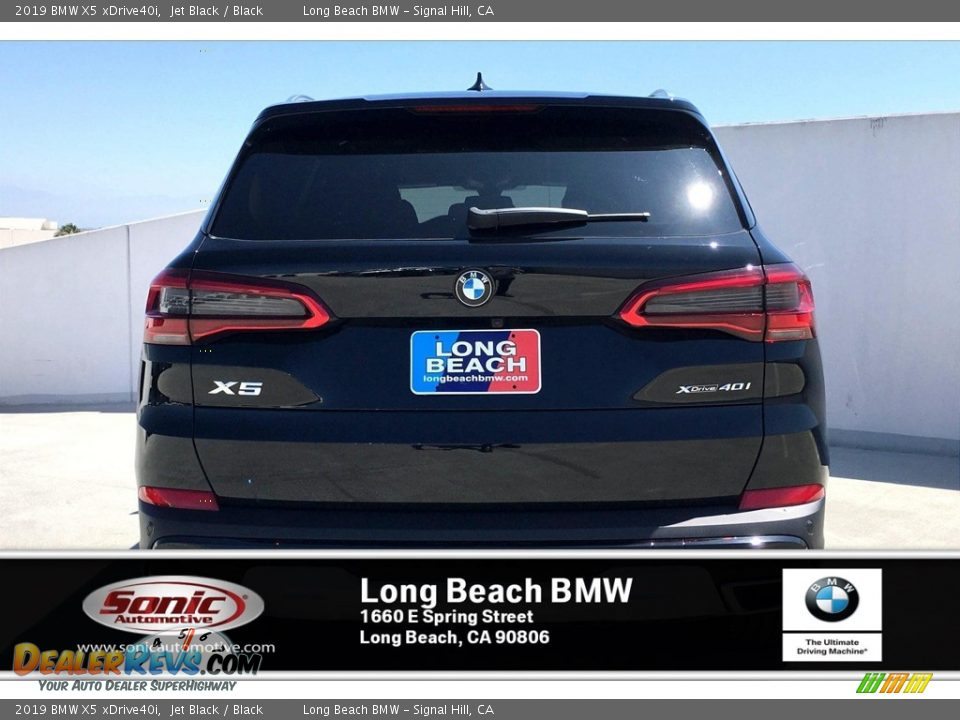 2019 BMW X5 xDrive40i Jet Black / Black Photo #3