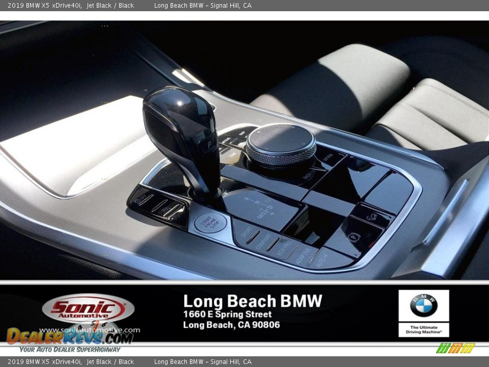 2019 BMW X5 xDrive40i Jet Black / Black Photo #6