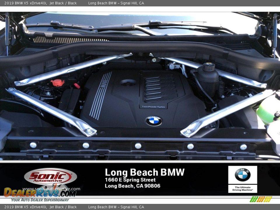 2019 BMW X5 xDrive40i Jet Black / Black Photo #8