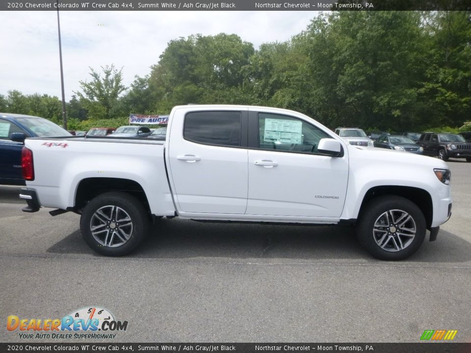 Summit White 2020 Chevrolet Colorado WT Crew Cab 4x4 Photo #6