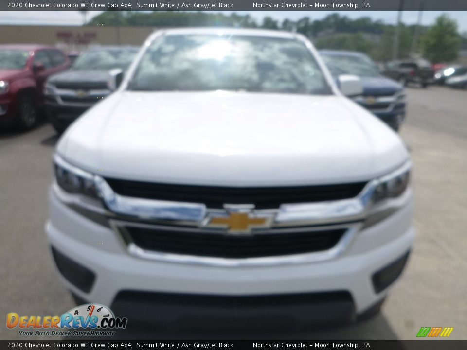 2020 Chevrolet Colorado WT Crew Cab 4x4 Summit White / Ash Gray/Jet Black Photo #8