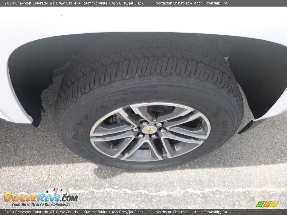 2020 Chevrolet Colorado WT Crew Cab 4x4 Wheel Photo #9