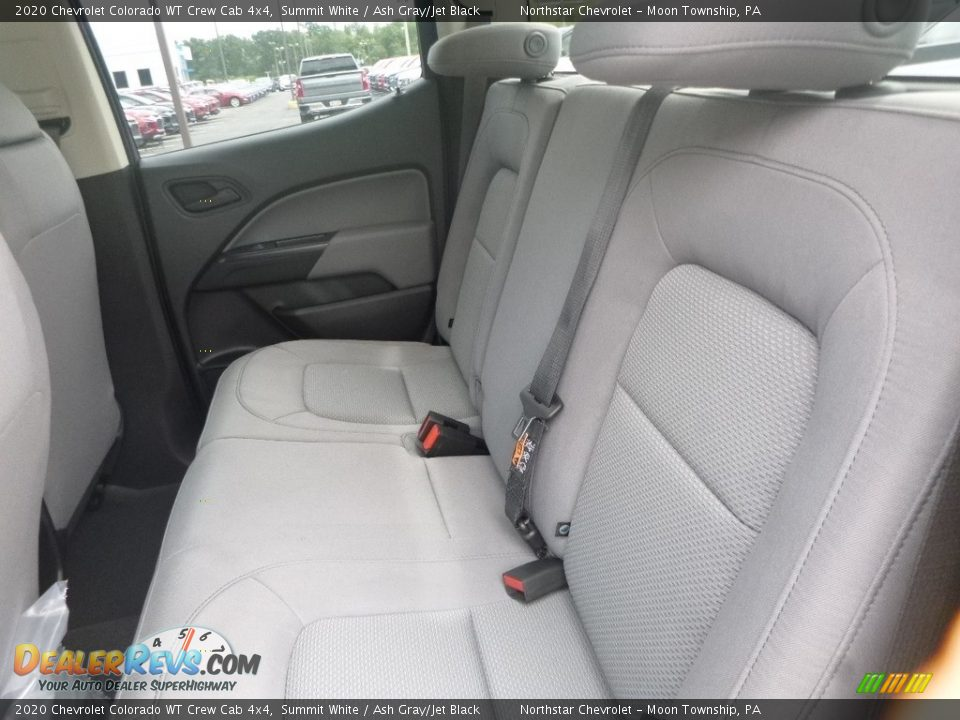 Rear Seat of 2020 Chevrolet Colorado WT Crew Cab 4x4 Photo #13