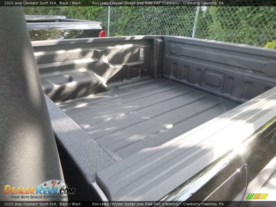 2020 Jeep Gladiator Sport 4x4 Black / Black Photo #3