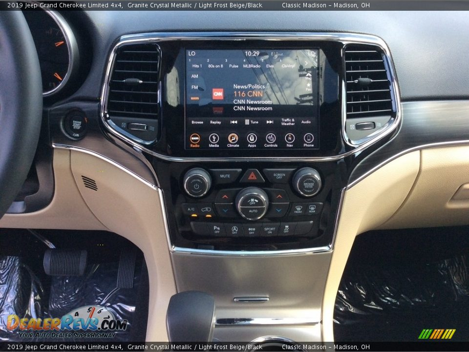 2019 Jeep Grand Cherokee Limited 4x4 Granite Crystal Metallic / Light Frost Beige/Black Photo #15