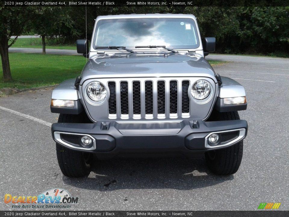 2020 Jeep Gladiator Overland 4x4 Billet Silver Metallic / Black Photo #3