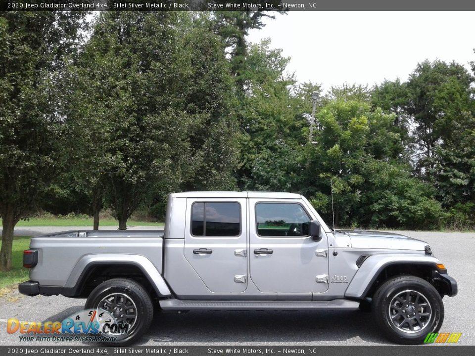 2020 Jeep Gladiator Overland 4x4 Billet Silver Metallic / Black Photo #5