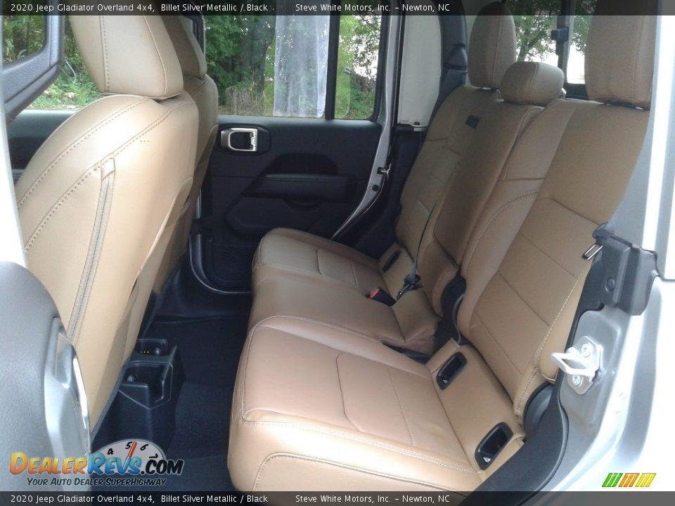 2020 Jeep Gladiator Overland 4x4 Billet Silver Metallic / Black Photo #11
