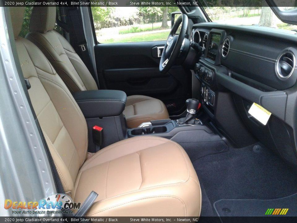2020 Jeep Gladiator Overland 4x4 Billet Silver Metallic / Black Photo #14
