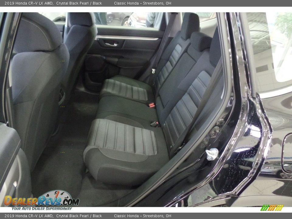 2019 Honda CR-V LX AWD Crystal Black Pearl / Black Photo #9